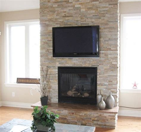Refacing Brick Fireplace by 17 Best Ideas About Stacked Fireplaces On