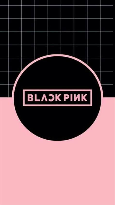 blackpink logo blackpink wallpaper wallpapers pinterest