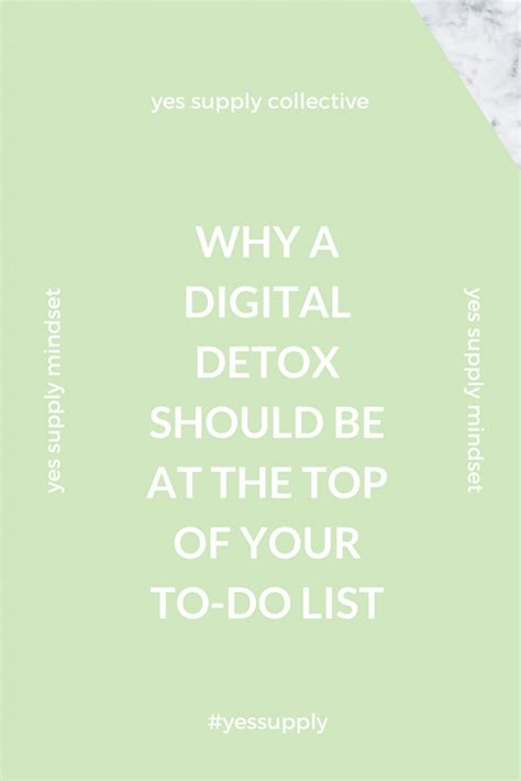 How To Do Digital Detox by Why A Digital Detox Should Be At The Top Of Your To Do List