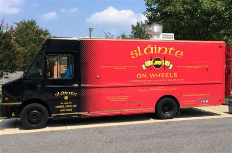 graphic design food truck graphic essentials slainte food truck