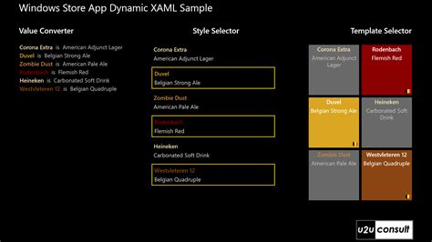 xaml templates using dynamic xaml in windows 8 store apps