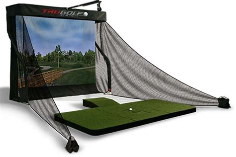 golf swing simulator best indoor golf swing simulators analysis systems