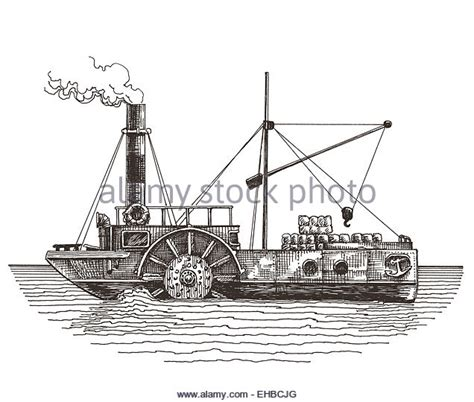 steamboat cartoon drawing steamship drawing stock photos steamship drawing stock