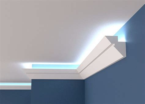 diy indirect lighting uplighter cornice crown molding for indirect light diy