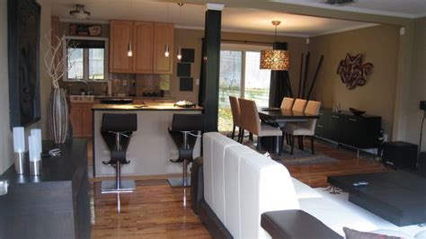 Living Room Dining Room Kitchen Layout Open Layout Living Dining Kitchen