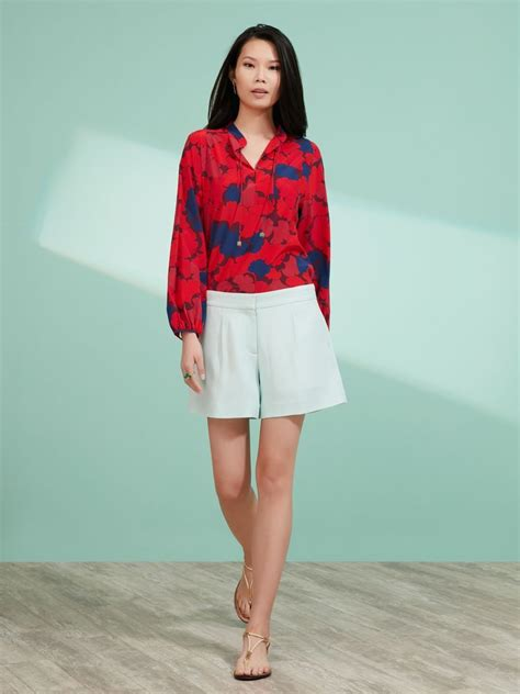Ready Flare Blouse ginkgo print flare blouse