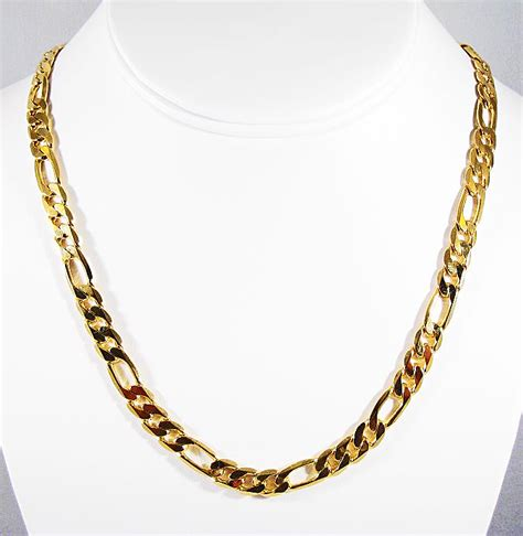 overlap hairstyle over chain figaro chain fashion belief