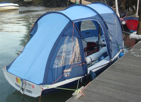 monica schaefer s boat tent for the mk iv