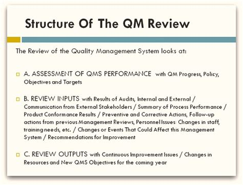 quality management review
