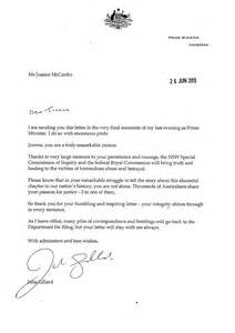 pm s letter to herald journalist joanne mccarthy