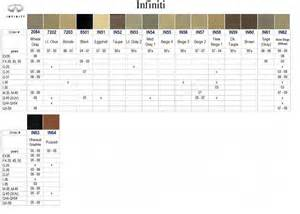 Infiniti Codes Infiniti Color Paint Codes Page 2 G35driver Infiniti