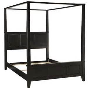 Bedroom Canopy Kmart Home Styles Bedford Black King Canopy Bed Home