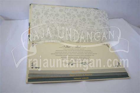 Undangan Custom Kertas Paper 260gsm undangan pernikahan hardcover ully dan dhani edc 70