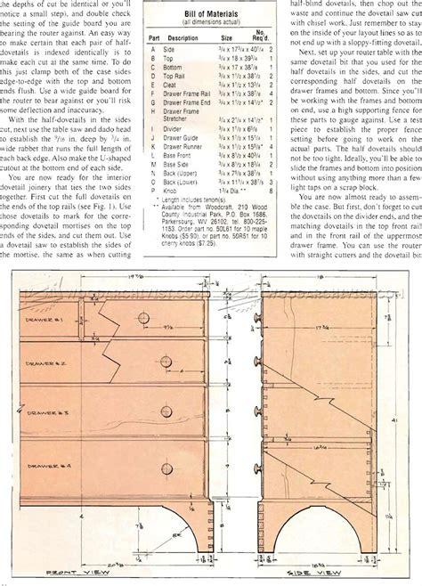 10 drawer dresser plans chaker chest of drawers plans woodarchivist
