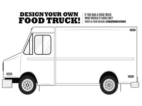food truck layout template what to eat at taste of cincinnati