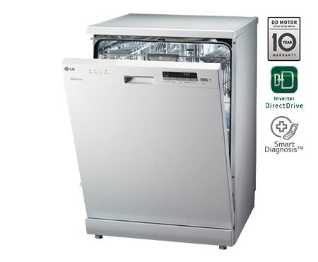 Lg Dishwasher Top Rack Not Getting Clean by Lg D1451wf Dish Washer 14 Place Settings Fully