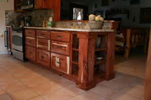 feay cedar kitchen project rustic kitchen