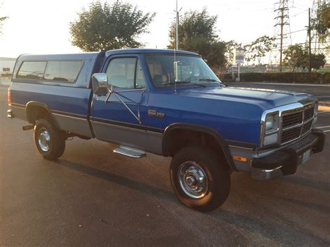 classic 1993 dodge ram w 250 cummins diesel 1993 dodge ram w250 cummins turbo diesel 4x4 auto one owner classic dodge ram 2500 1993
