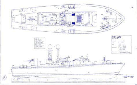 pt boat design plan higgins pt boat blueprint plans ww2 torpedo navy rare