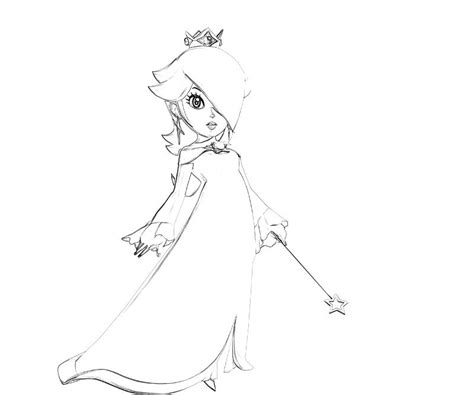 princess rosalina coloring pages princess rosalina coloring page www imgkid the