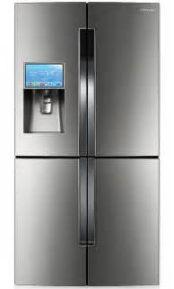 samsung t9000 four door refrigerator with android