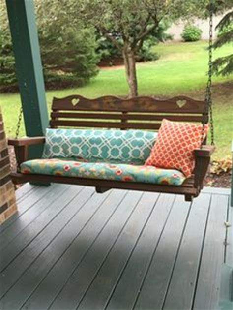 we swing too repurposed porch swing made from a vintage headboard seat