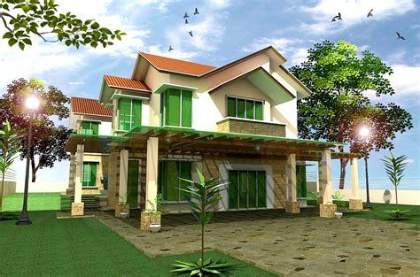 gambar wallpaper rumah cantik rumah cantik dua tingkat info bisnis properti foto