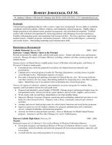 Community Volunteer Resume Sle by Sle Resume For Community College Teaching Position