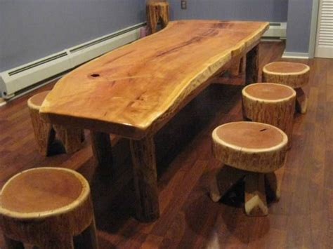 How To Sell Handmade Furniture - mobilier rustic din lemn rotund forme armonioase