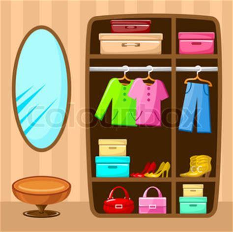 Kleiderschrank Clipart by Kleiderschrank Innen Illustration F 252 R Ihr Design Stock