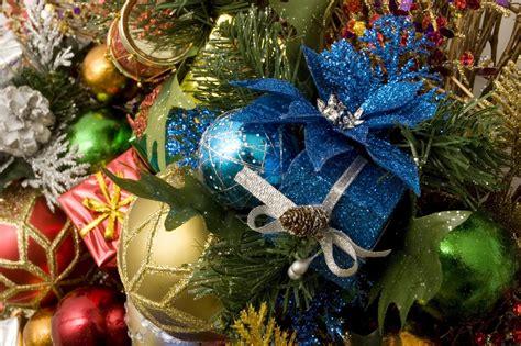 blue christmas ornaments christmas photo 22228763 fanpop