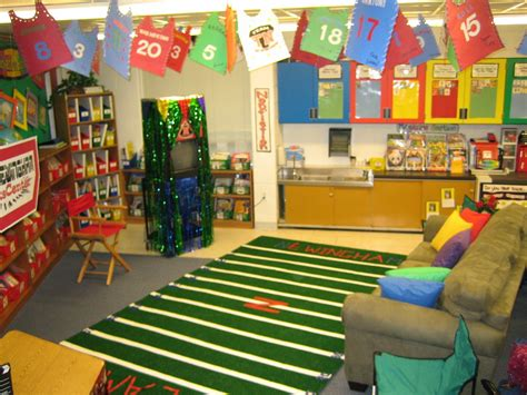 theme for classroom decoration sports themed classrooms clutter free classroom
