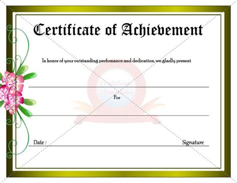 outstanding performance certificate template 20 best images about achievement certificate templates on