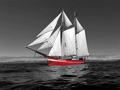 imagenes en blanco y negro de barcos fond d 233 cran bateau rouge