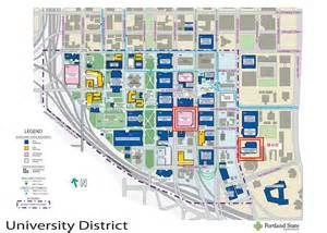 Psu Map Portland by Portland State University Map Of Campus Images