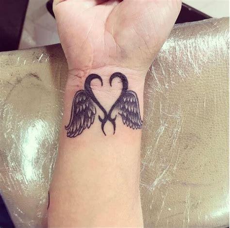tattoo angel wings wrist 49 best angel tattoos designs for men women 2018