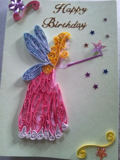 Handmade Quilling Cards - handmade quilled birthday cards ideas origami