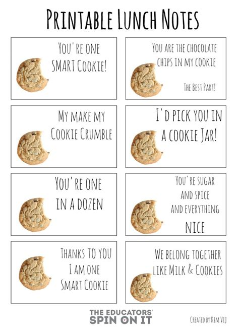 printable lunch quotes 17 best images about teacher appreciation on pinterest