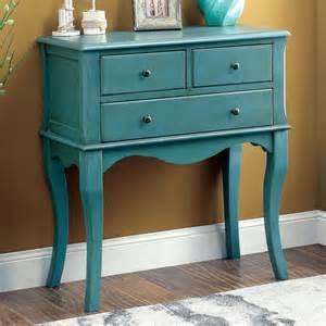 Vintage Hallway Table Eloisa Vintage Style Antique Teal Hallway Table Everything Turquoise