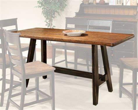 intercon counter height dining table winchester in wn ta