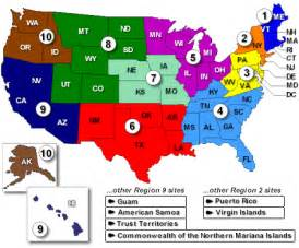 office map regional offices atsdr