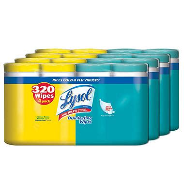 lysol disinfecting wipes  wipes   pk sams club