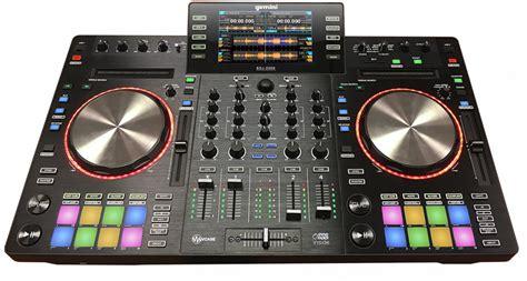 console dj namm 2016 gemini sdj 2000 standalone dj console