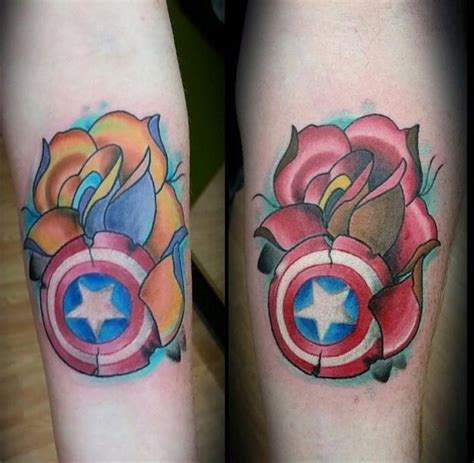 captain america shield tattoo 105 captain america designs and ideas for marvel
