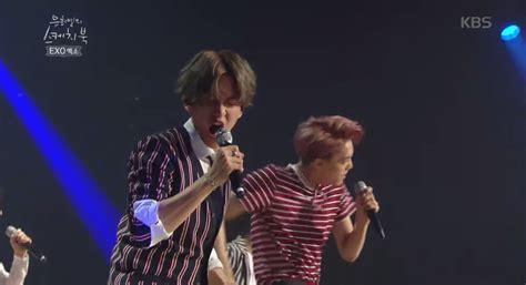 sketchbook yoo hee yeol exo exo slays with live band version of growl on