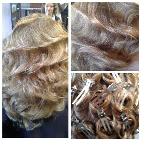 wet set hair styles wedding pin curl wet set hairstyles to try pinterest