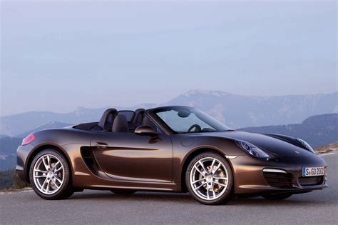 2013 Porsche Boxster rated at 22/32 MPG   Autoblog