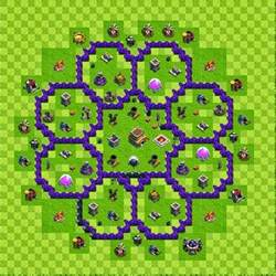 Clash of clans tips town hall level 8 layouts part 2 40chienmingwang