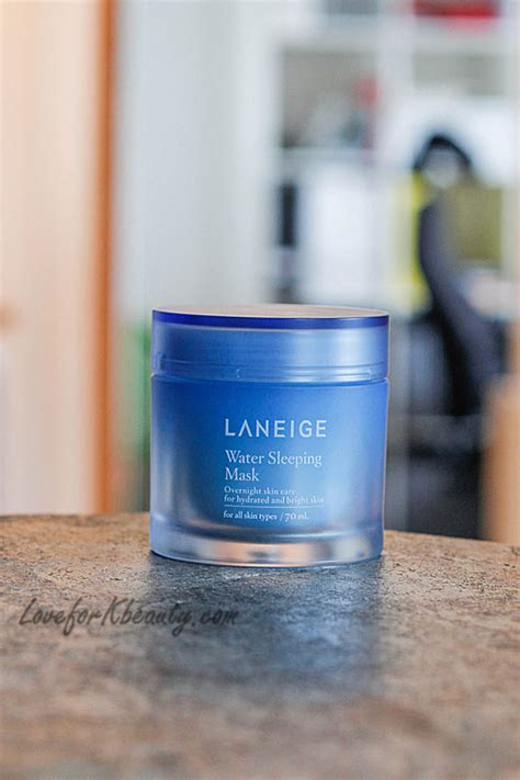 Laneige Water Sleeping Mask Fullsize Original laneige water sleeping mask review