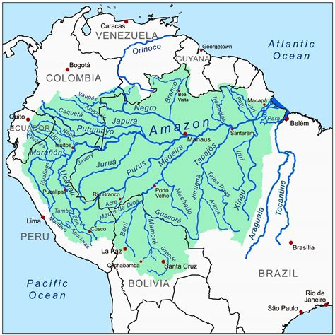 amazon river map infographics maps music and more amazing amazonia part 1